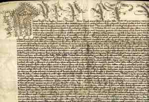 The Letters Patent granted by Henry VI, 12 February 1440-1 (KC/11)