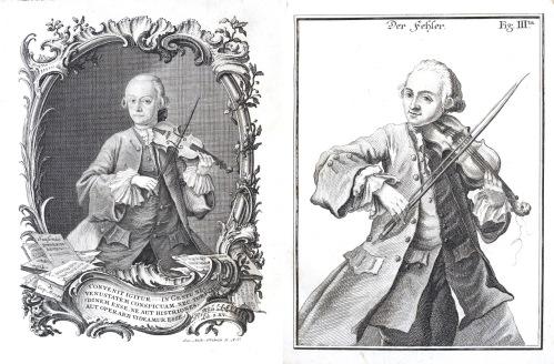 Versuch einer gründlichen Violinschule / Leopold Mozart. Augsburg: Johann Jakob Lotter, 1756. Rw.38.43