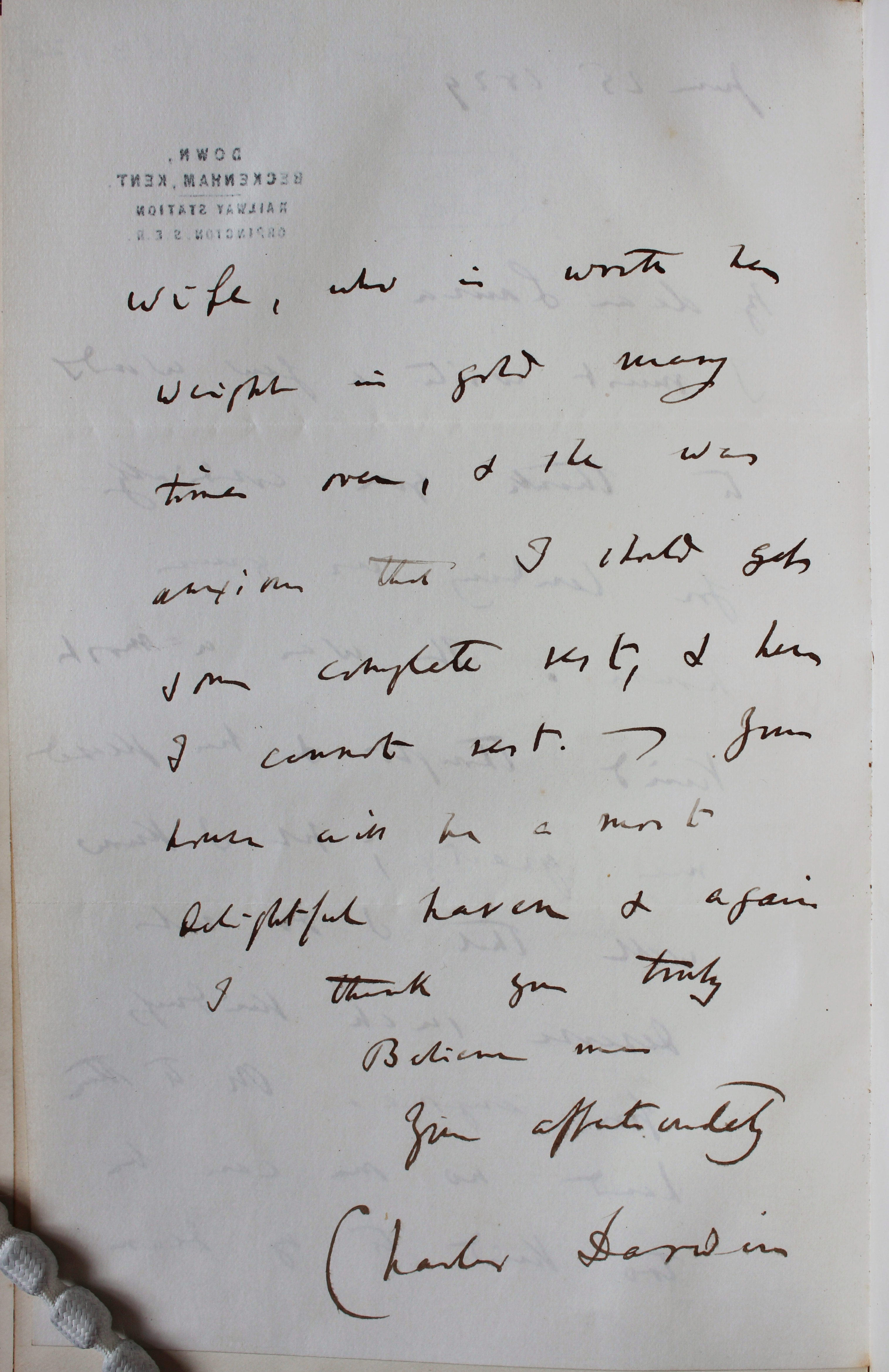 Forster.DARW.Lif1.1887 letter page 02