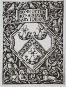 Laura Mary Forster's bookplate