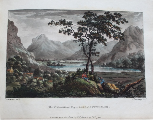 Peter Holland, Select Views of the Lakes in Cumberland, Westmoreland & Lancashire (Liverpool: printed by James Smith, for John Peeling, [1792]) Bicknell.61
