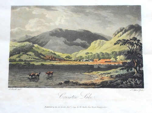 John Smith, Sixteen Views of the Lakes in Cumberland and Westmorland (London: printed for W. Clarke [1794-1795]) Bicknell.84