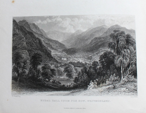 Thomas Rose, Westmorland, Cumberland, Durham, & Northumberland (London: Fisher & Jackson, [1832-1835]) Bicknell.85
