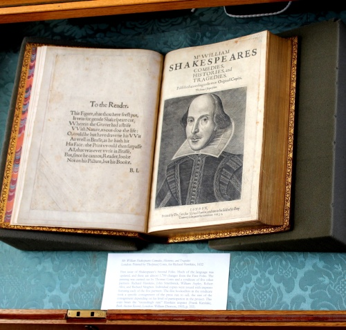 Mr. William Shakespeares Comedies, Histories, and Tragedies London: Printed by Tho[mas] Cotes, for Richard Hawkins, 1632