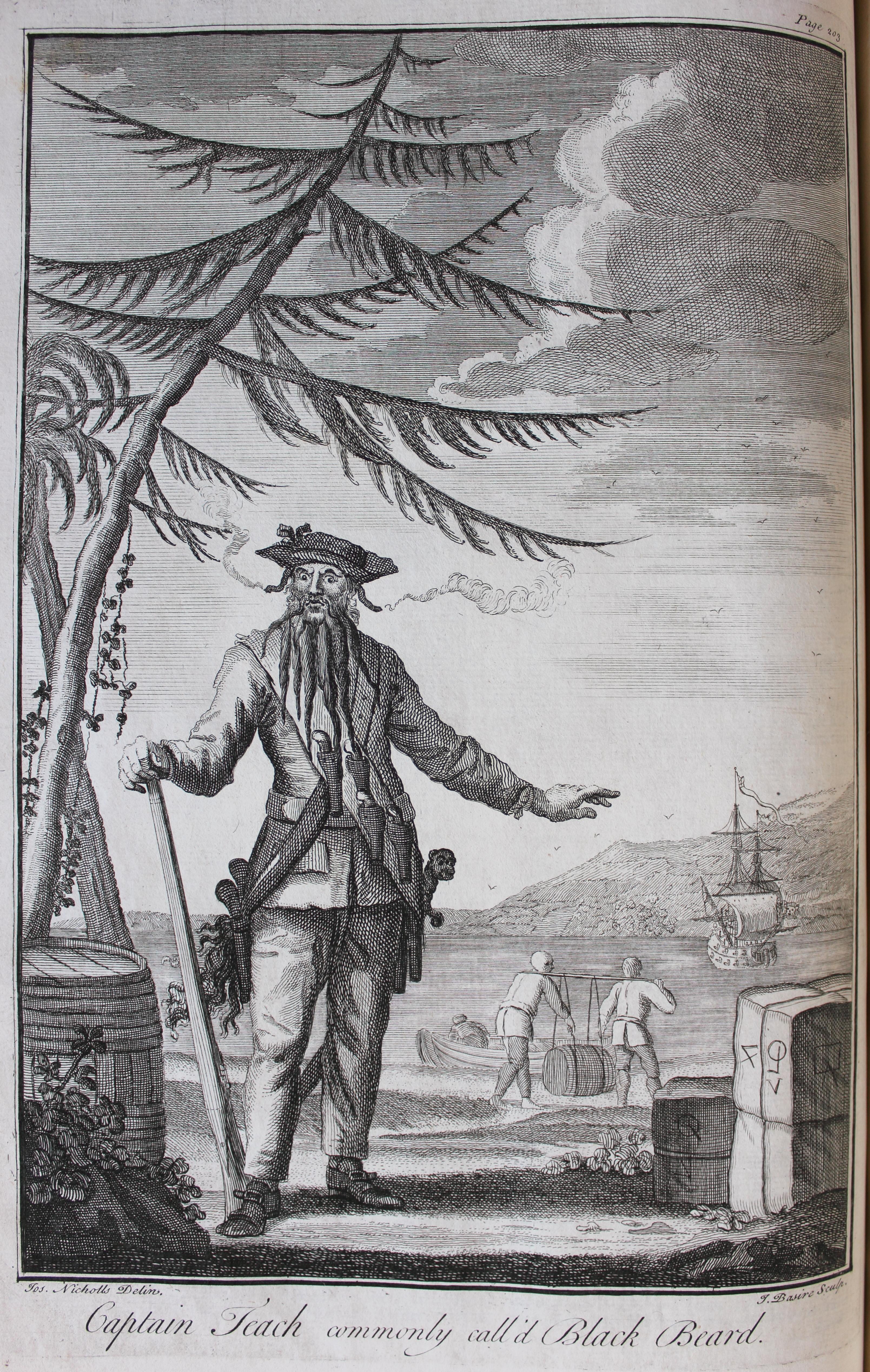 Thackeray.Q.29.9 facing page 203 Blackbeard